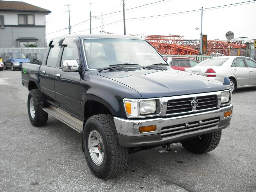Japanese Used Cars Toyota Hilux Double Cab