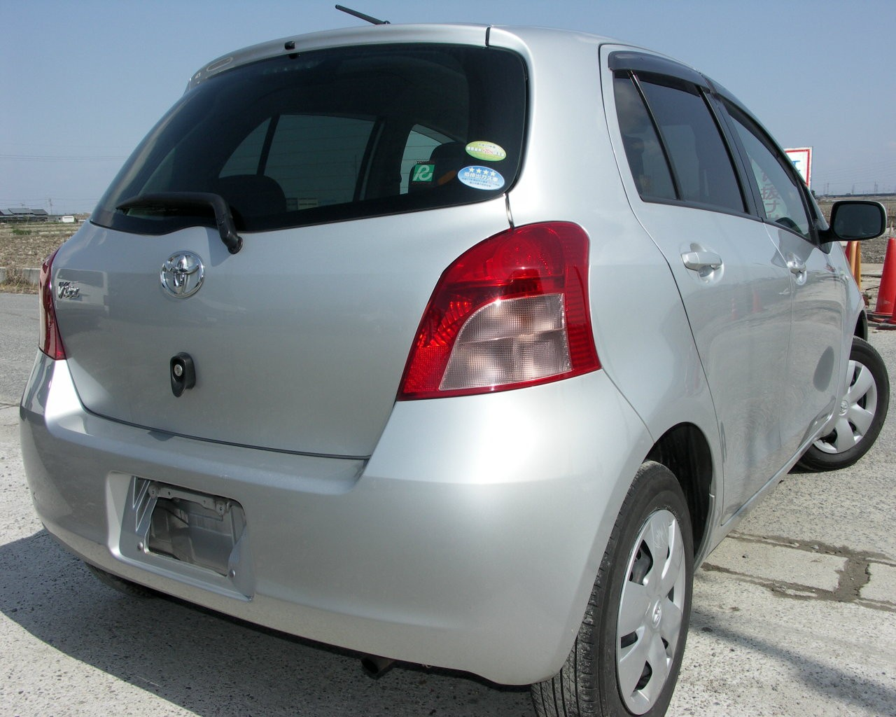 Japanese Used 2007 Toyota Vitz from Japan japancarpages.com #801A2A
